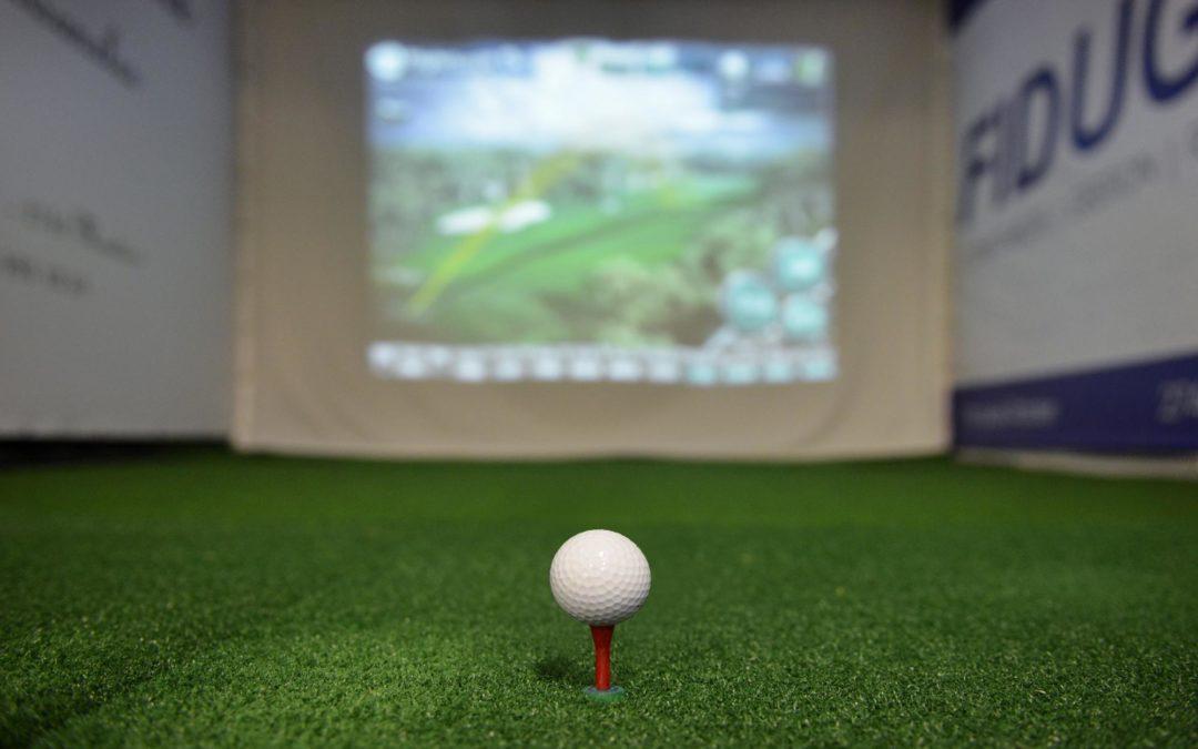 Cage simulateur golf
