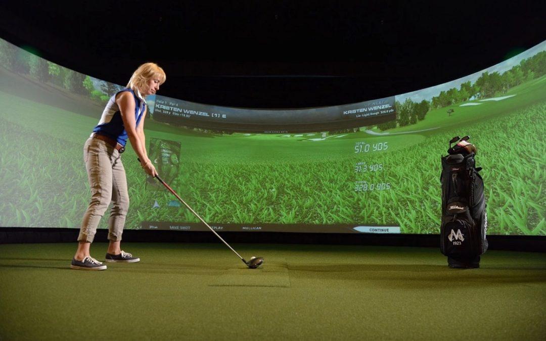 Practice golf maison